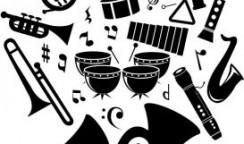 楽器別人口比率の話