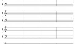 楽譜の書き方