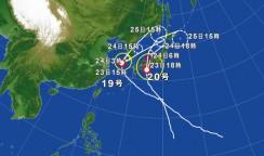 台風シーズン到来!